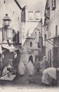 Algeria Alger Une rue de la Casbah