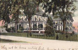 WEST SWANSEY, New Hampshire, PU-1906; Danman Thompson's Residence