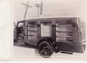 2 photos ; Imperial Tobacco Co delivery truck , C.C.F. Co. (Canada) , Dodge 1...