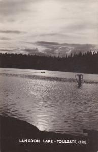 RP: Langdon Lake - TOLLGATE , Oregon , 30-40s
