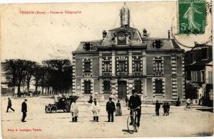 CPA VERNON - Postes et Télégraphe (182729)