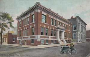 MALDEN , Massachusetts , 1909 ; New Police station