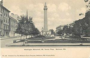 Washington Monument Mt. Vernon Place Baltimore MD
