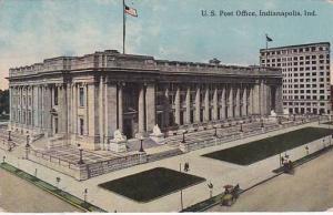 U. S. Post Office, Indianapolis, Indiana, PU-1913