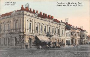 Gruss aus Brod, Bosnia and Herzegovina ,Jelacic-Platz