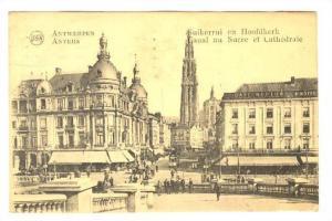 ANVERS Canal au Sucre et Cathedrale, BELGIUM, 00-10s