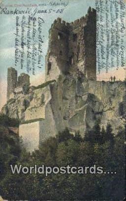 Ruine Drachenfels Austria 1908