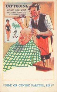 Comic Postcard Garland, Rudolf & Co. W112, Seaside Joke, Humour KM1