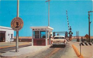 Entrance Queen Isabella 1957 Laguna Madre PORT ISABEL TEXAS Whaley postcard 3939