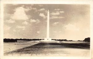 F27/ Houston Texas RPPC Postcard 1944 San Jacinto Monument Museum