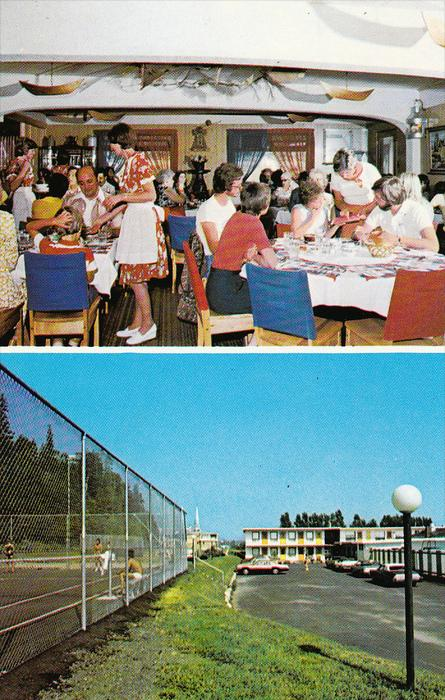 Hotel Motel St. Louis, Dining Room, CHARLEVOIX, Quebec, Canada, 40-60´