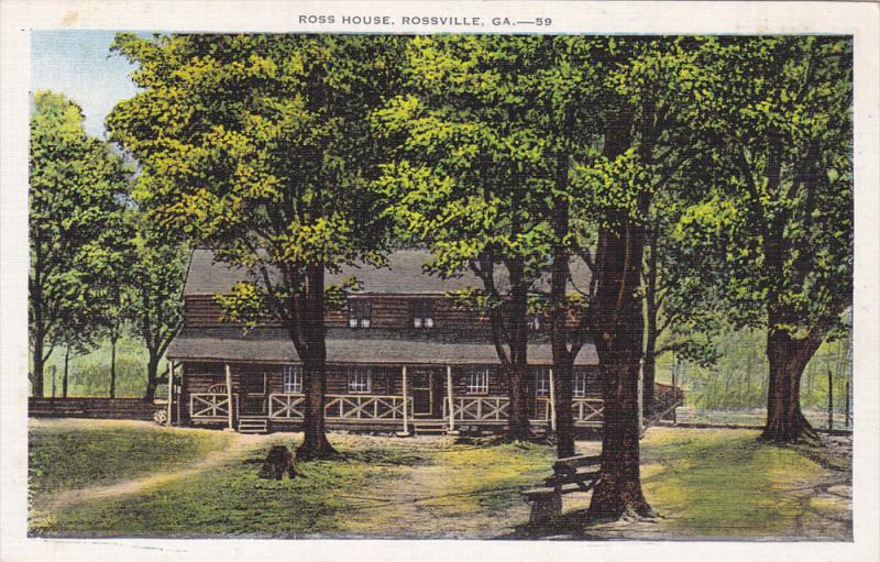 Ross House, Rossville, Georgia, 1930-1940s