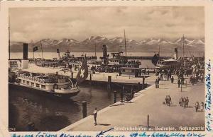 RP, Ferries, Hafenpartie, Friedrichshafen a. Bodenfee, Germany, 1920-1940s