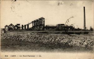 CPA CAEN - Les Hauts - Fourneaux (515813)