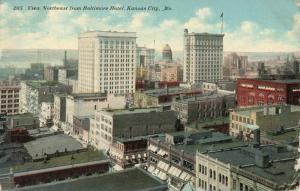 Postcard View of Kansas City Missouri