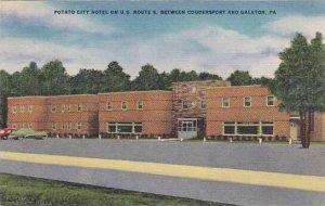 Pennsylvania Coudersport Potato City Hotel