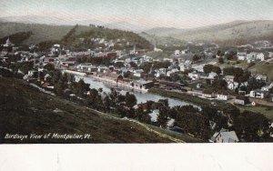 MONTPELIER, Vermont, 1900-1910's; Birdseye View