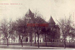 1907 HIGH SCHOOL, WATERTOWN, S. D.