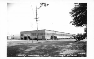 G24/ Quincy Michigan RPPC Postcard c1950s Quincy Products Factory Company