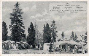 12680 Owl Cabins & Texaco Gas Station, Bend, Oregon