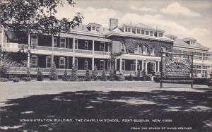 New York Fort Slocum Administration Building The Chaplain School Artvue