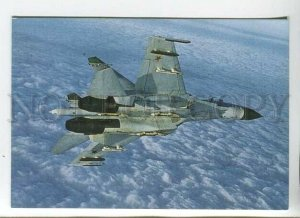 3111129 RUSSIA MILITARY PLANE Advertising Old photo calendar