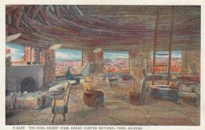 GRAND CANYON , Arizona , 1910s ; The Kiva , Fred Harvey H-4220