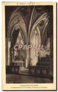 Postcard Abbey d & # 39Hautecombe The Sanctuary and The Tomb of St Nicolas & ...
