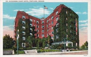 Oregon Portland Alexandria Court Hotel 1945