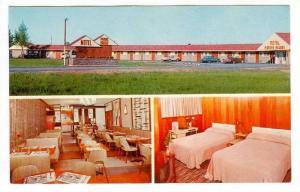 3-Views, Motel Pignon Rouge, Montreal, Quebec, Canada, 40-60's