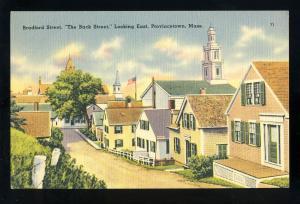 Provincetown, Massachusetts/MA/Mass Postcard, Bradford Street, Cape Cod