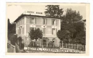 RP; Sweden, Restaurant & Hotel Luzern Jura, 20-40s