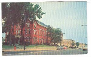 Country Seat of Wicomico County, Old & New Court House & Post Office, Salisbu...