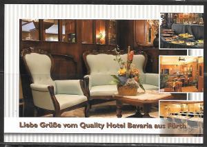 Germany, Furth, Quality Hotel, unused