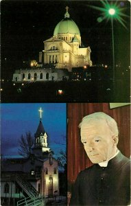 St Joseph Oratory Mount Royal Montreal Quebec Canada CA Postcard