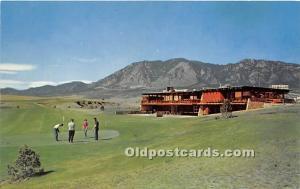 Old Vintage Golf Postcard Post Card Stratmoor Hills Golf Course Colorado Spri...