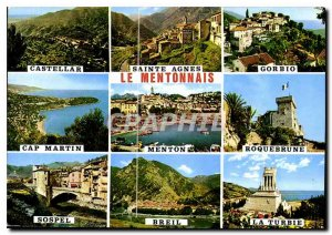 The Modern Postcard The French Riviera Menton Its rating and its valleys
