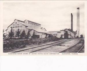 Florida Clewiston Sugar House Of United States Sugar Corporation Albertype