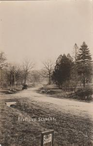 RPPC Old Car in Penfield Scenery - Penfield NY, New York