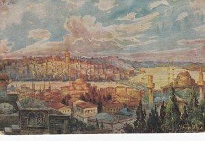 CONSTANTINOPLE , Turkey , 00-10s ; Vue de Galata et Pera