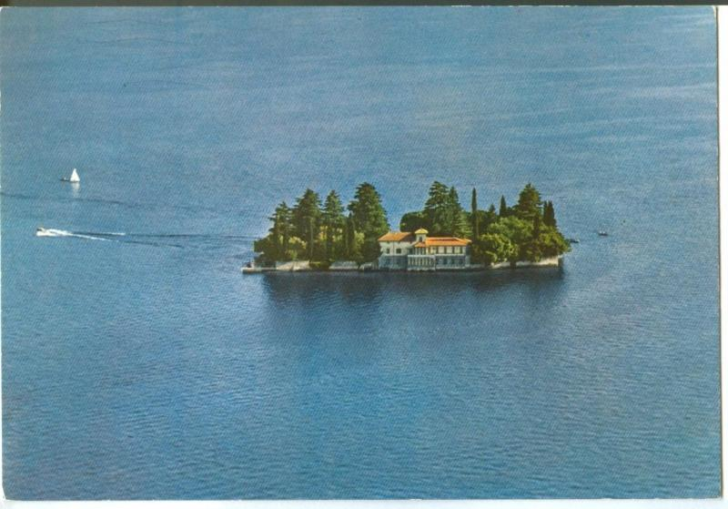 Italy, LAGO D'ISEO, Isola di S. Paolo, unused Postcard