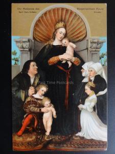 Religious: DIE MADONNA DES NACH HANS HOLBEIN c1910 - By Stengel & Co No.29702