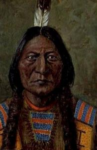Chief Sitting Bull Indian Postcard Post Cards  Chief Sitting Bull