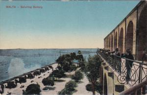 MALTA, 1900-1910´s; Saluting Battery