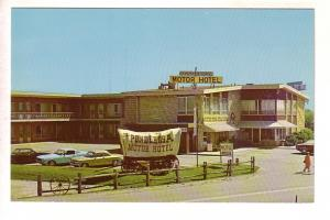 Ponderosa Motor Hotel, Burlington, Ontario, Covered Wagon, Alex J Pelett