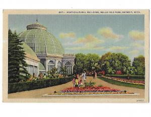 Horticultural Building Belle Isle Park Detroit Michigan