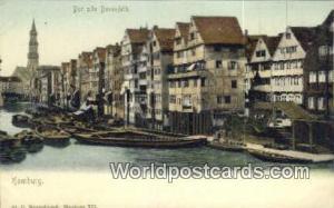 Hamburg Germany, Deutschland Postcard Der alle Dovenfleth  Der alle Dovenfleth