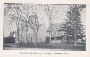 Episcopal Church & Parsonage, Saybrook, Connecticut, 1900-1910s