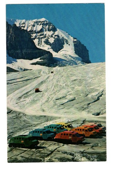 Snowmobiles, Ice Taxis, Athebasca Glaciers, Columbia Ice Fields, Alberta