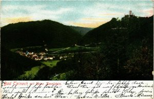 CPA AK Bad Teinach- Ruine Zavelstein GERMANY (908123)